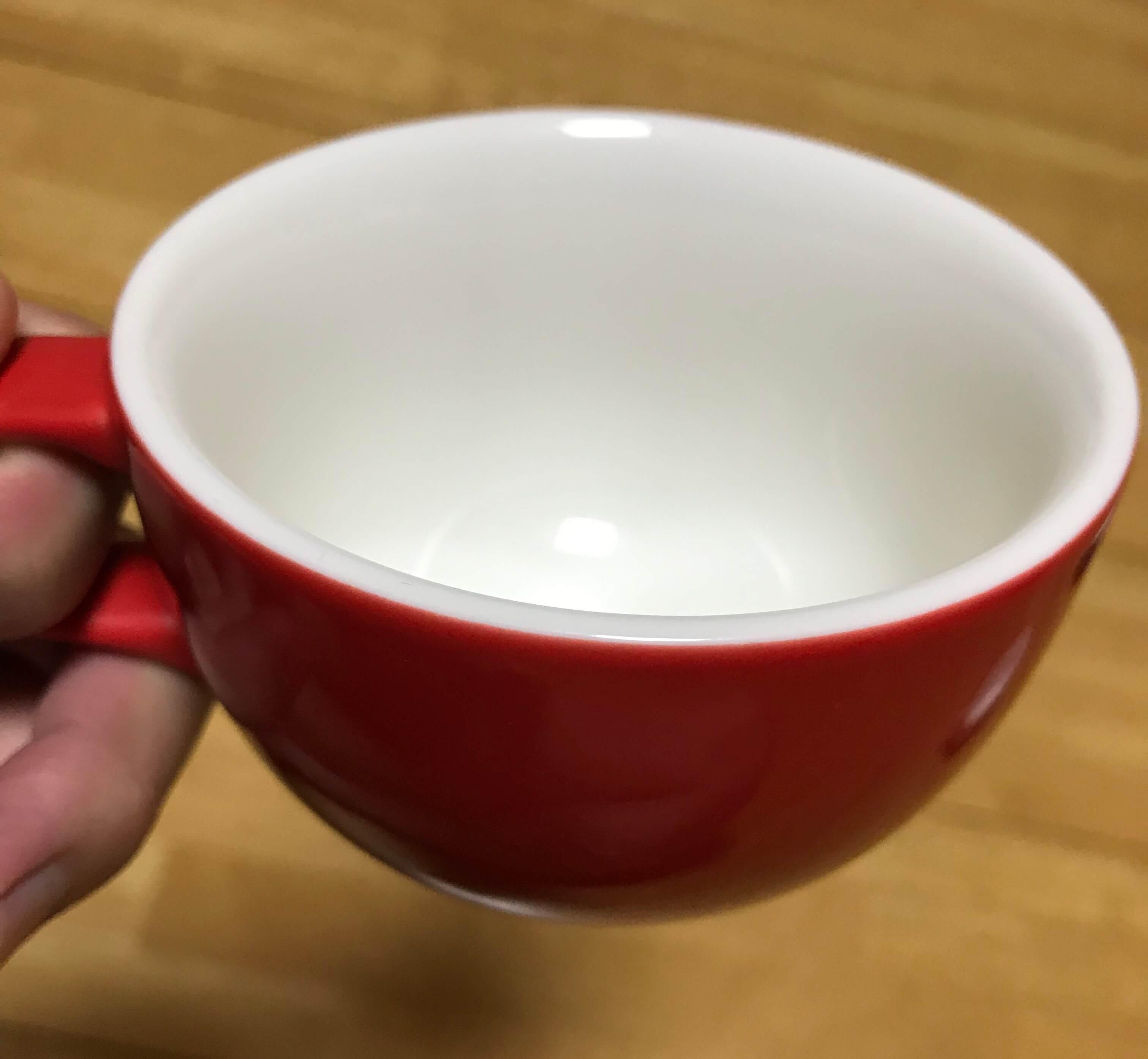 ORIGAMIカップの厚さ