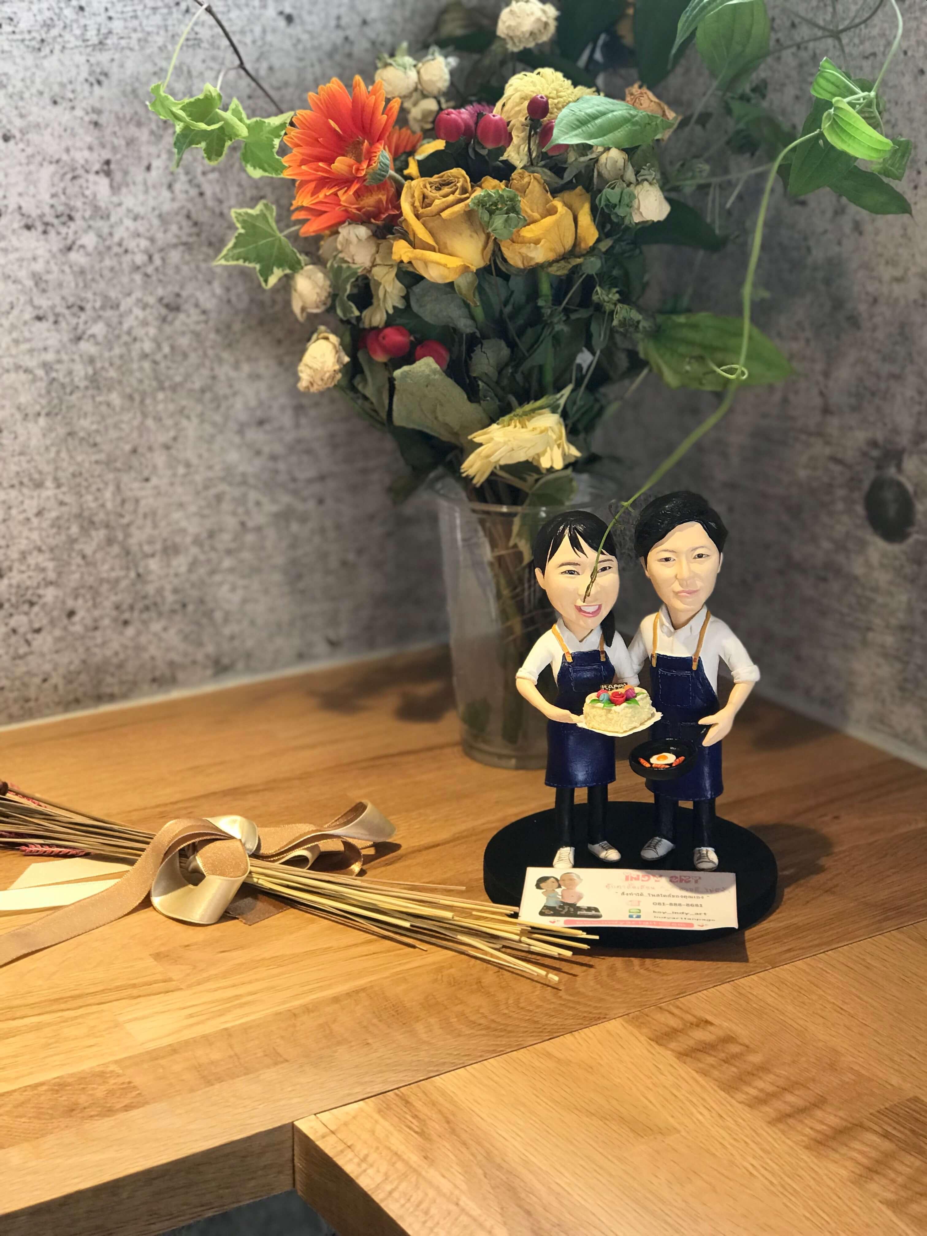 ご夫妻の人形